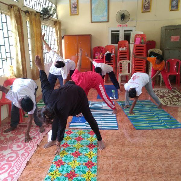 Belle popularité pour les cours de Yoga bénévoles à Maurice